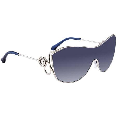Roberto Cavalli Garfagnana Blue Gradient Shield Ladies Sunglasses (Roberto Cavalli Sunglasses For Men)