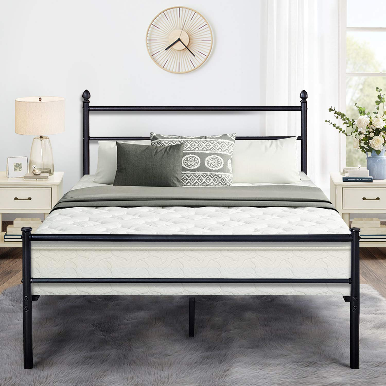 Metal Platform Queen Bed Frame