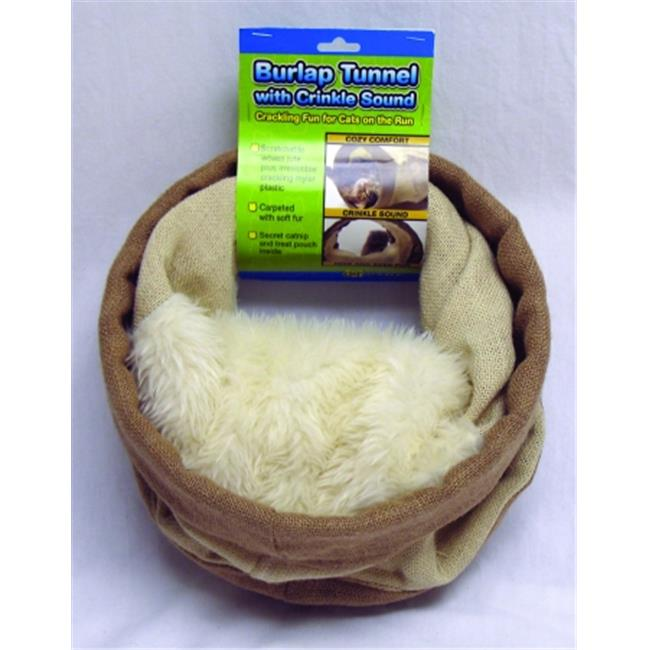 Ware Burlap Tunnel With Crinkle Sound 10939
