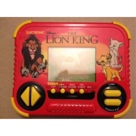 Disney's The Lion King Tiger Electronic Handheld Game 1994 Tiger Electronic Handheld Game