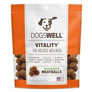 Dogswell Vitality Chicken Meatballs Dog Treats, 15 Oz