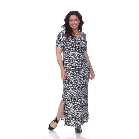 White Mark - Plus Size \'Jasmine\' Maxi Dress - Walmart.com
