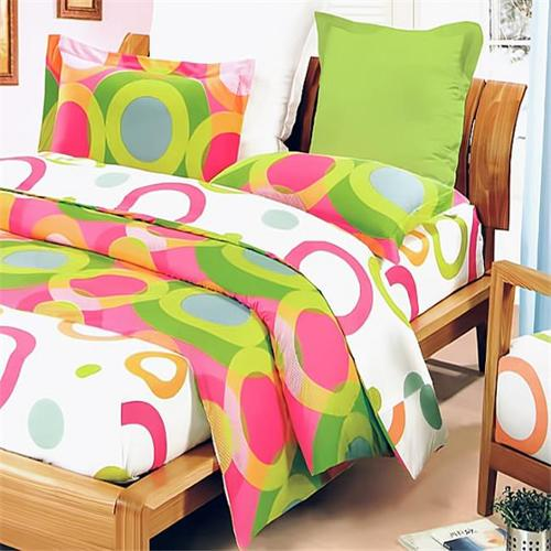 MINIDUVET-DDX01020-TWIN Rhythm of Colors 2 Piece Twin Mini Comforter Cover-Duvet Cover Set