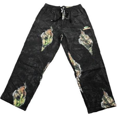d56b992a1f3f6 Mossy Oak Men's Fleece Camo Sweatpants, MO Breakup Eclipse - Walmart.com