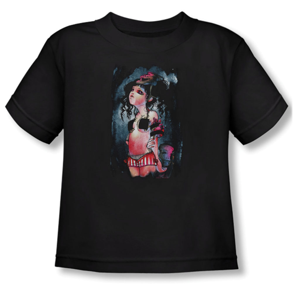 Helmetgirls Boys' Janus Childrens T-shirt Black