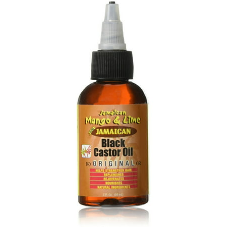 Jamaican Mango & Lime  Black Original Castor Oil 2