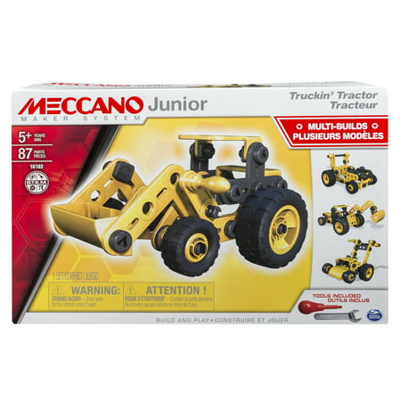 Meccano-Erector Junior, Truckin' Tractor, 4 Model Building - Erector Sets