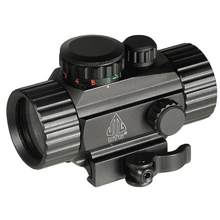 "UTG 3.8"" Red/Green Circle Dot Sight w/QD Mount"