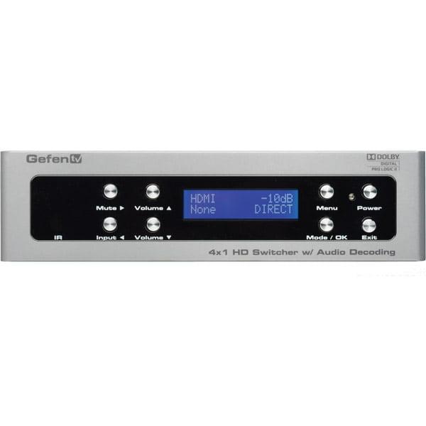 Gefen - GTV-AUDDEC-N - Gefen GefenTV HDMI Switch - 1920 x 1200 - WUXGA - 1080p4 x 1