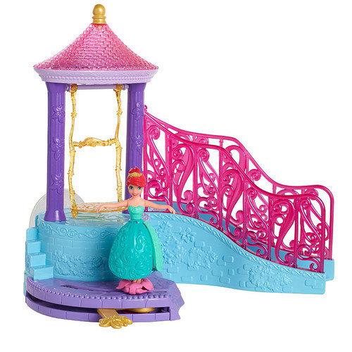 Disney Princess Ariel Small Doll Bath Play Set