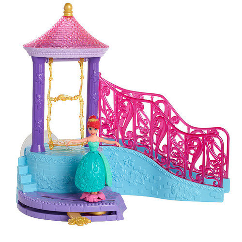 Disney Princess Ariel Small Doll Bath Play Set