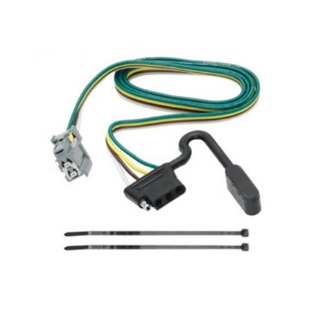 Replacement OEM Tow Package Wiring Harness 4-Flat, 9 x 4.25 x 2.50 on