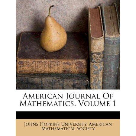American Journal of Mathematics, Volume 1 - image 1 of 1