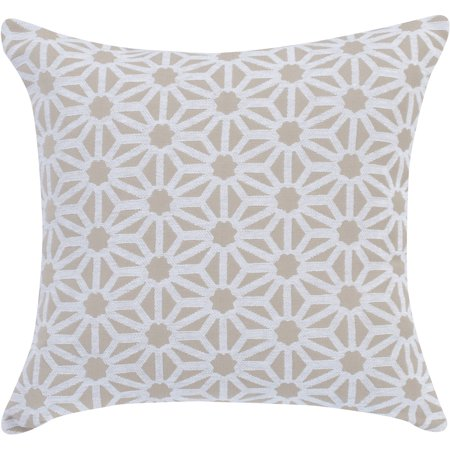 Better homes and gardens pinwheel decorative toss pillow - Better homes and gardens pillows ...