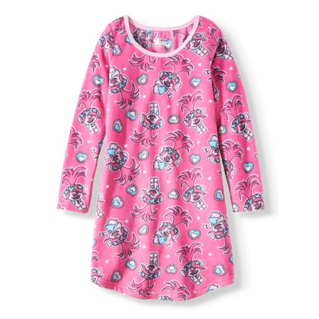 Trolls Long Sleeve Nightgown (Big Girl & Little Girl)