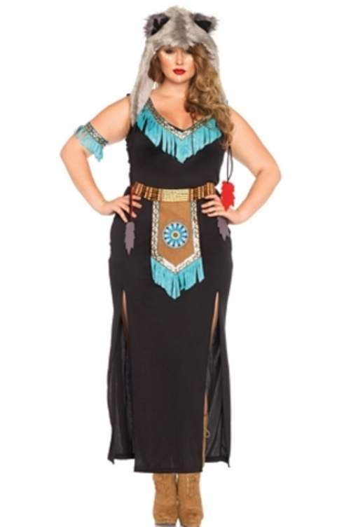 Leg Avenue Womenu0027s Plus-Size Wolf Warrior Costume Black/Turquoise 3X  sc 1 st  Walmart & Leg Avenue Womenu0027s Plus-Size Wolf Warrior Costume Black/Turquoise ...