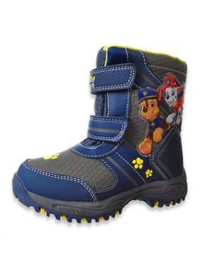 Paw Patrol Boys' Pawed Stitch Winter Boots (Sizes 7 - 12)