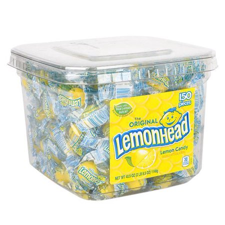 LEMONHEAD ORIGINAL TUB 40.5 oz, Case of 2