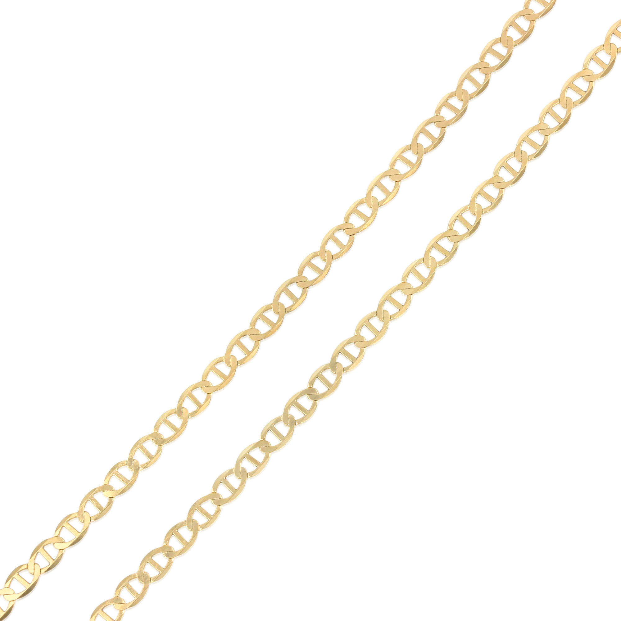 """Details about  /Ioka 7+1/"""" 14K Yellow Solid Gold Light Bracelet"""