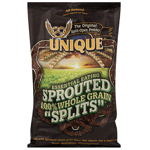 Unique Whole Grain Pretzels, 8 oz (Pack of 12)