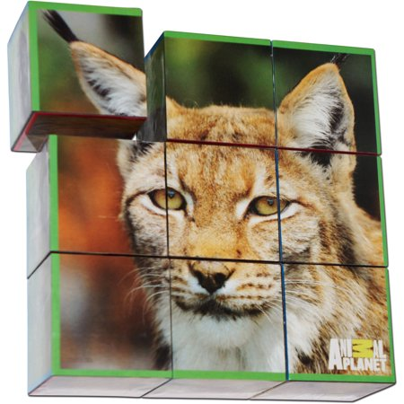 Smart Play Animal Planet Puzzle Cubes  Endangered Species