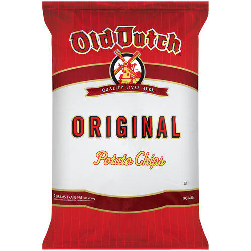 Old Dutch Original Potato Chips, 9 oz