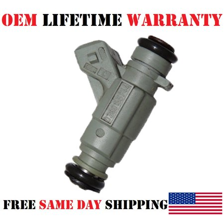 1x OEM Bosch #0280155744 Fuel Injector for 1999-2000 Mercedes-Benz ML430 4.3L V8