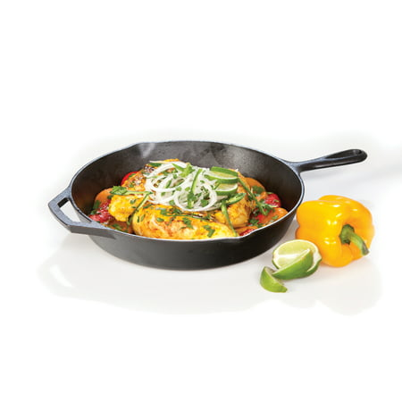 Lodge Pre-Seasoned 12 Inch. Cast Iron Skillet with Assist Handle