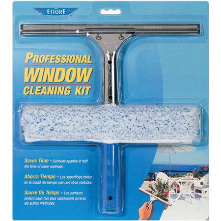 Ettore Professional Window Cleaning Kit, 04991, 2 pc