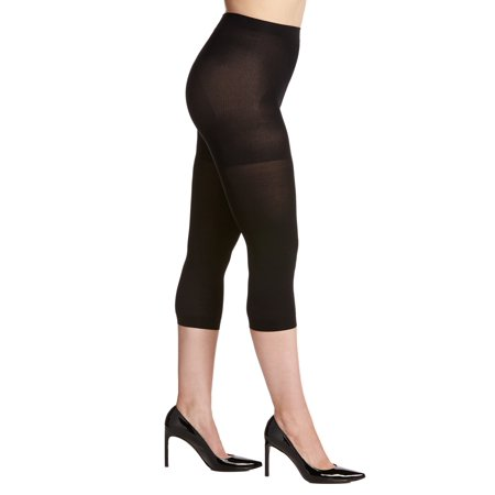 Berkshire NEW Black Women Size Q Petite Cooling Comfy Control Capri Tights (Petite Tights)