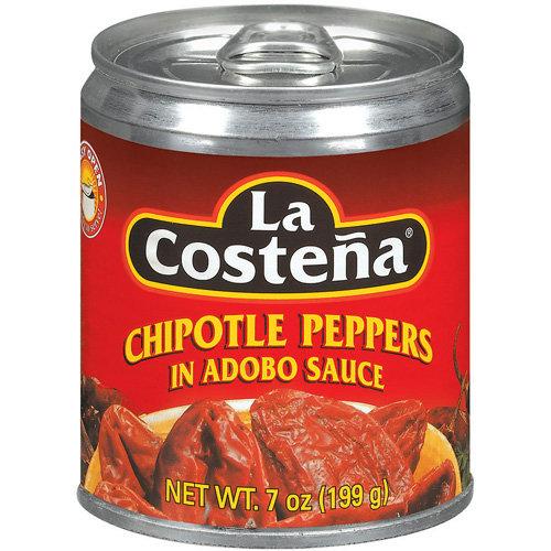 La Costena In Adobo Sauce Chipotle Peppers, 7 oz