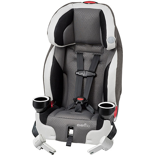 Evenflo SecureKid 400 2-for-1 Booster Car Seat, Grayson