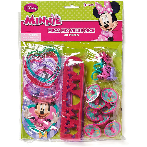 Minnie Mouse Bow-Tique Party Favor Pack, Value Pack, Party Supplies