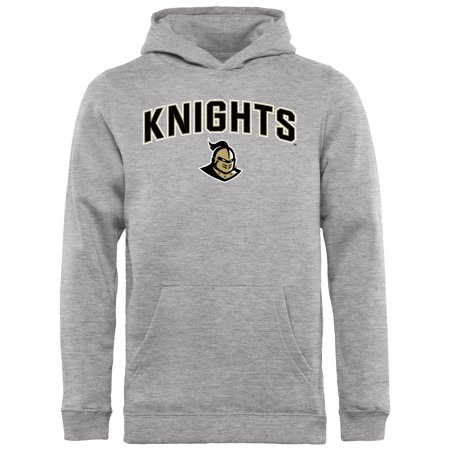 07e227028 UCF Knights Youth Proud Mascot Pullover Hoodie - Ash -