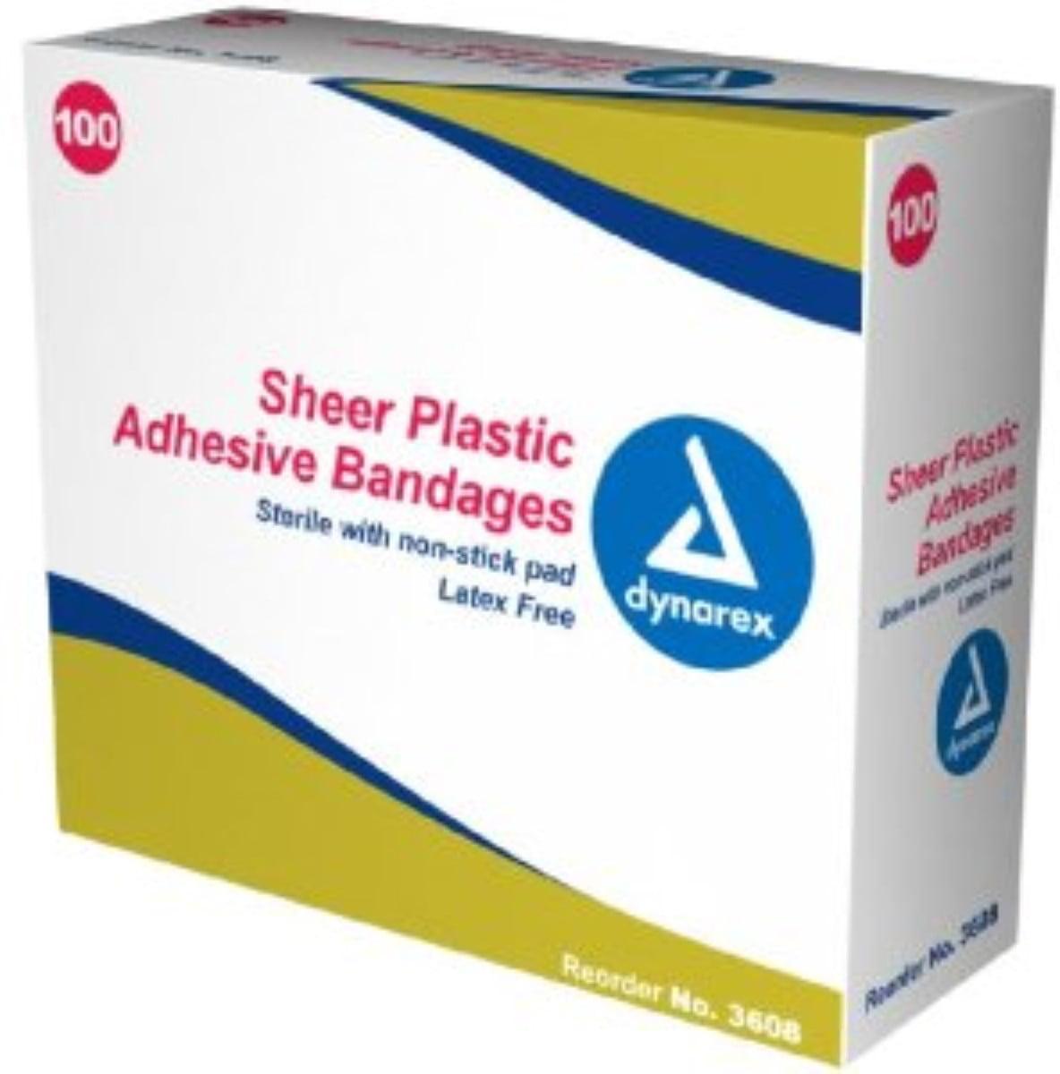 Dynarex Adhesive Strips JR 3/8X1.5 100 ea
