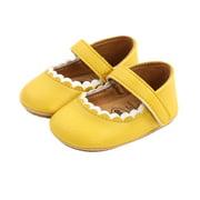 Binpure Newborn Princess Shoes, Toddler Prewalker with Hook and Loop