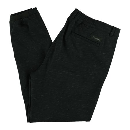 847957f1 Calvin Klein Mens Heathered Casual Trousers black 2XL/31 - image 1 of 2 ...