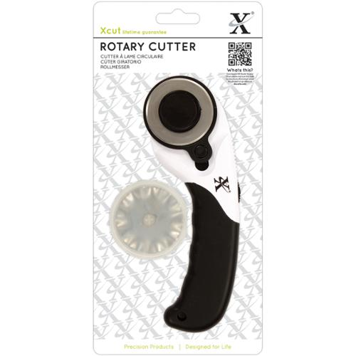 Xcut 45mm Rotary Cutter-Two Straight Blades & One Wave Blade
