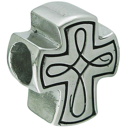 Connections from Hallmark Stainless-Steel Cross Charm