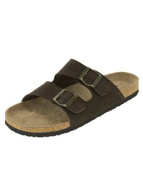 Northside Mens Phoenix Leather Strap Cork Sandal