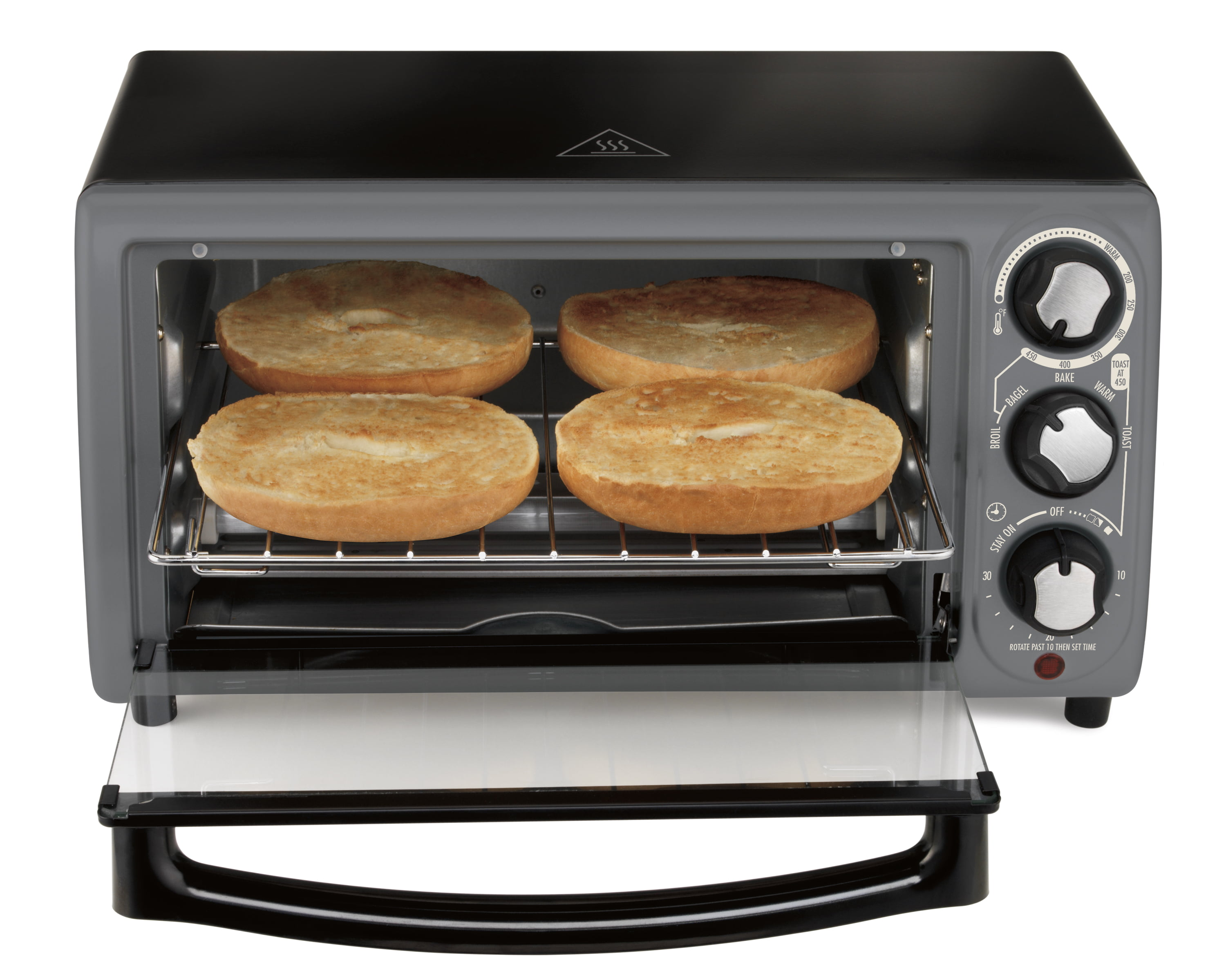 black minute stainless steel pizza toaster decker maker snack oven blackdecker