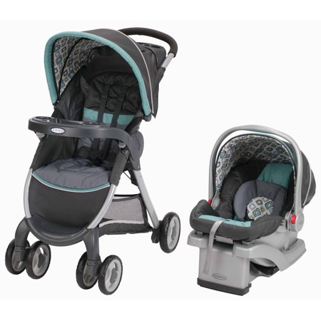 Graco Fastaction Fold Click Connect Travel System Car
