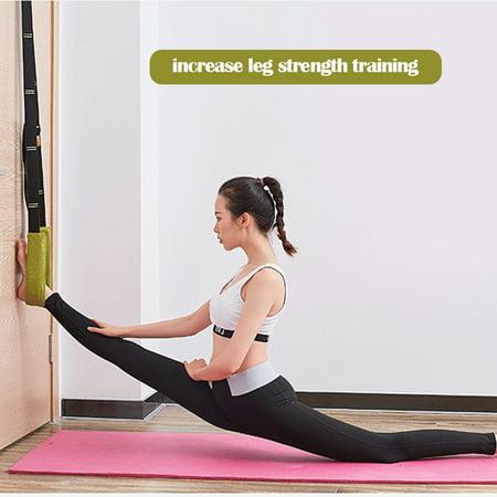 yoga stretch belt flexibility stretching leg stretcher