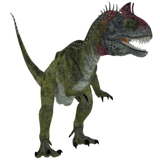 29 Best Corey Reagan Interiors Images On Pinterest: Cryolophosaurus Dinosaur White Background Canvas Art
