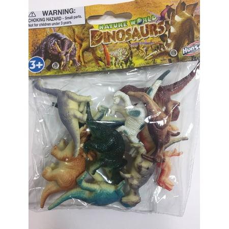 Dog Figure Figurine - 10 PCS DINOSAURS TOY PLASTIC FIGURINE FIGURE NATURE WORLD KIDS GIFT FUN