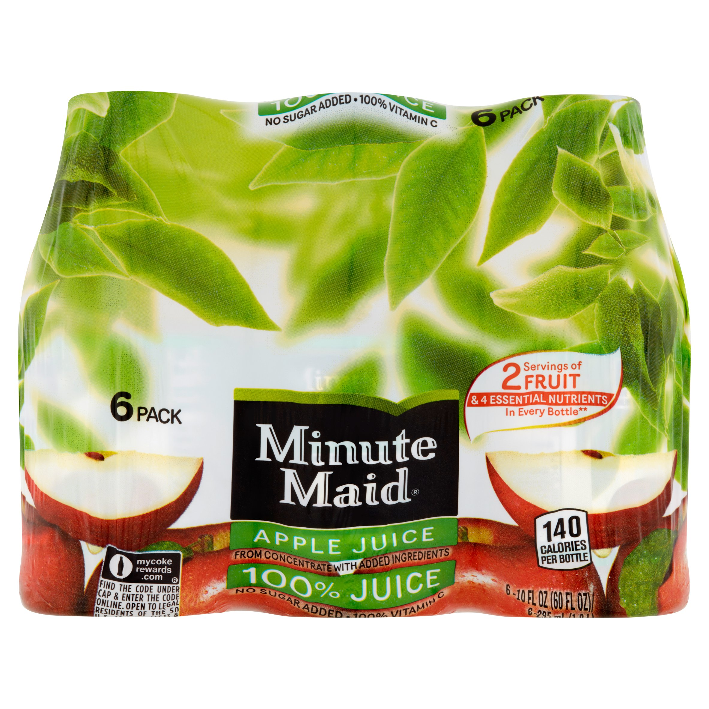 Minute Maid Juices To Go 100% Apple Juice, 6pk by The Coca-Cola Company