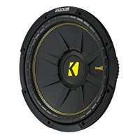 Kicker 12 Inch CompC 600 Watt 4 Ohm Single Voice Coil SVC Subwoofer | 44CWCS124