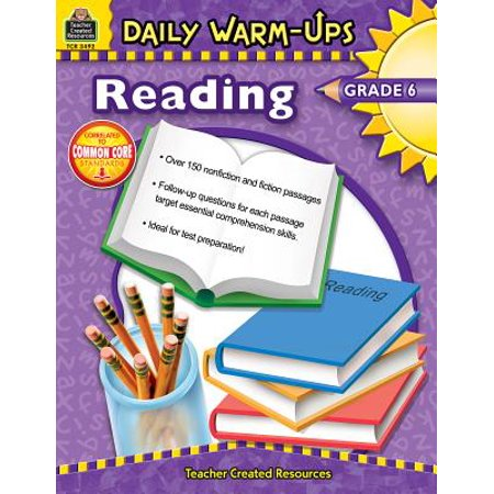 Daily Warm-Ups: Reading, Grade 6 (Daily Warm Ups)