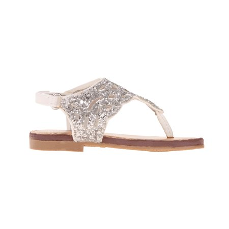 Girl's Pre-walk Rhinestone (Rubber Girls Sandals)