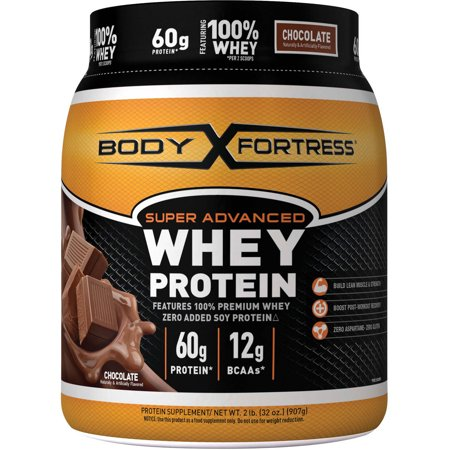 Body Fortress Super Advanced Whey Protein Powder Chocolate 60g